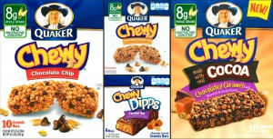 Quaker Chewy Snack Bars