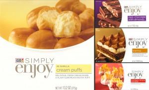 Simply Enjoy Frozen Desserts